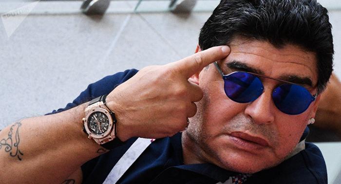 Maradona pide que Boca Juniors sea proclamado campeón de Copa Libertadores tras incidentes