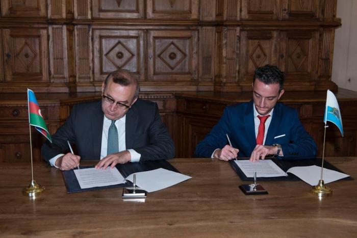 SOCAR, San Marino state company ink memorandum of understanding
