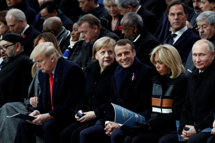 In solemn Paris ceremony, Macron leads global WW1 Armistice commemorations