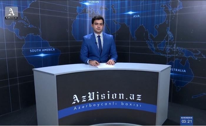 AzVision Nachrichten: Alman dilində günün əsas xəbərləri (9 Noyabr) - VİDEO