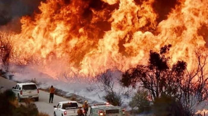 ABŞ-da meşə yanğınları - Ölü sayı 76-ya çatdı