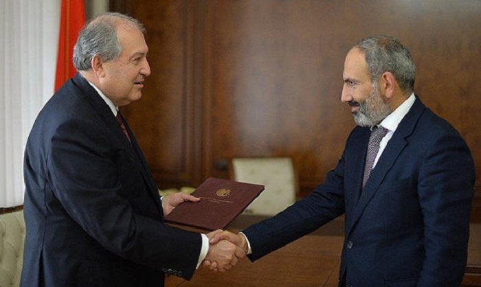 Armenian President signs decree to dissolve Parl