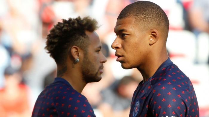 Neymar y Mbappé se lesionan antes del crucial encuentro que disputará el PSG en