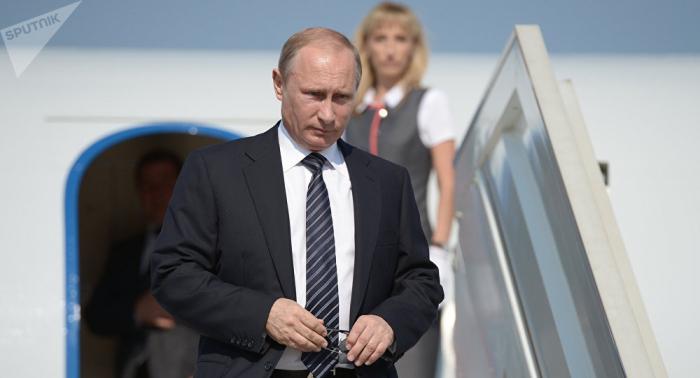 Putin llega a Singapur para asistir a la cumbre de la ASEAN