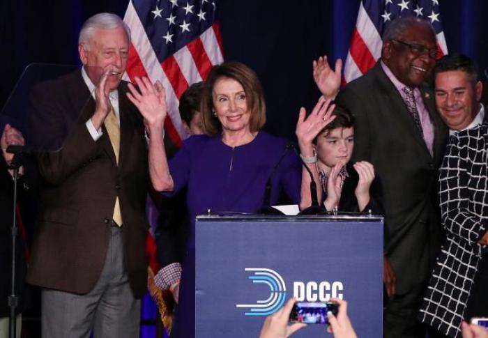 Trump faces restraints after Democrats seize U.S. House