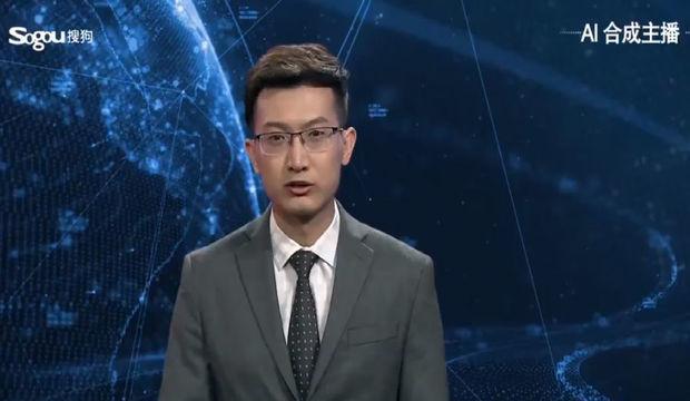 أول مقدم تلفزيوني الروبوتي للبرنامج الإخباري في العالمتم عرض في الصين - فيديو