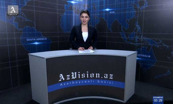 AzVision News: İngiliscə günün əsas xəbərləri (9 Noyabr) - VİDEO