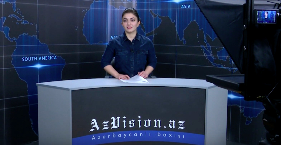 AzVision TV releases new edition of news in English for November 12- VIDEO