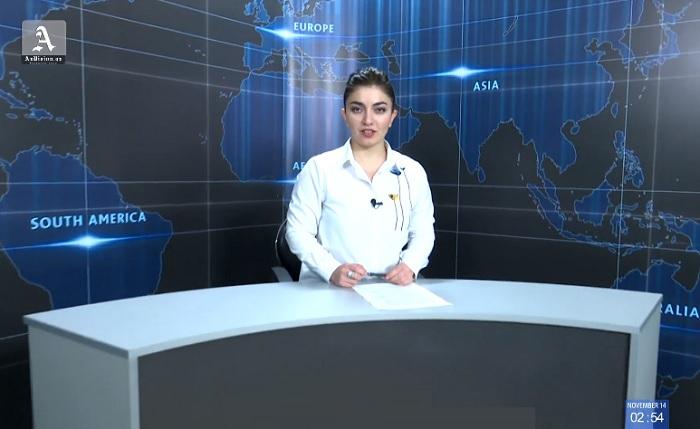 AzVision News: İngiliscə günün əsas xəbərləri (14 Noyabr) - VİDEO