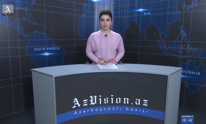 AzVision TV releases new edition of news in English for November 30 -VIDEO