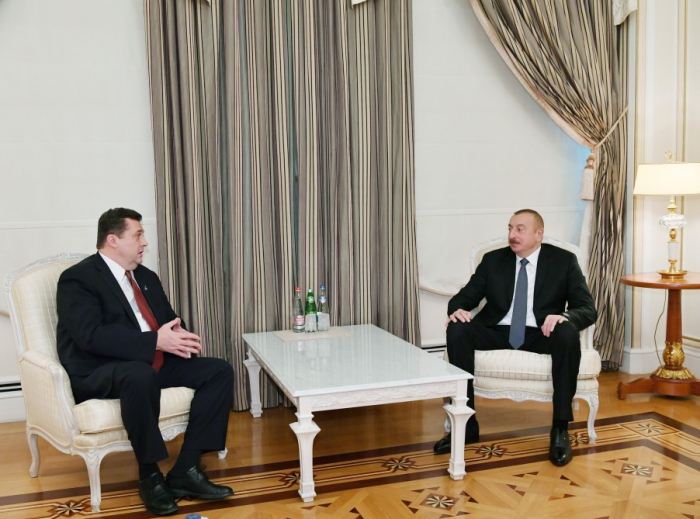 President Ilham Aliyev received chairman of Russian Union of Journalists - UPDATED