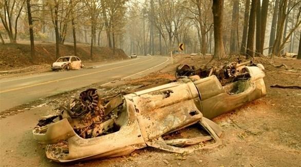 ارتفاع عدد ضحايا حرائق كاليفورنيا إلى 48 شخصاً