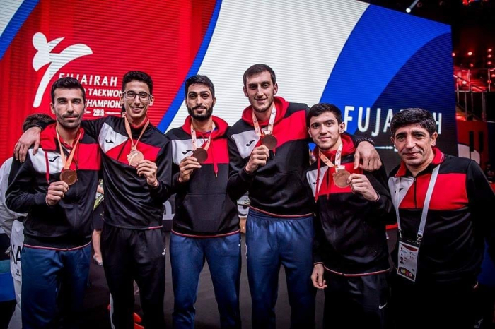 Azerbaijani fighters claim bronzes at World Taekwondo Team Championship
