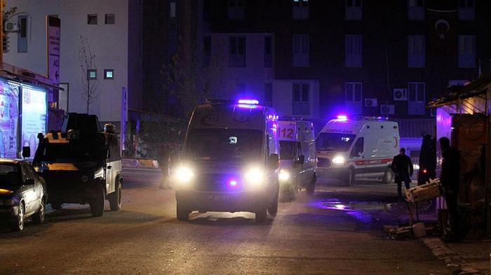 Türkiyədə partlayış: 25 hərbçi yaralanıb, 7 əsgər itkin düşüb