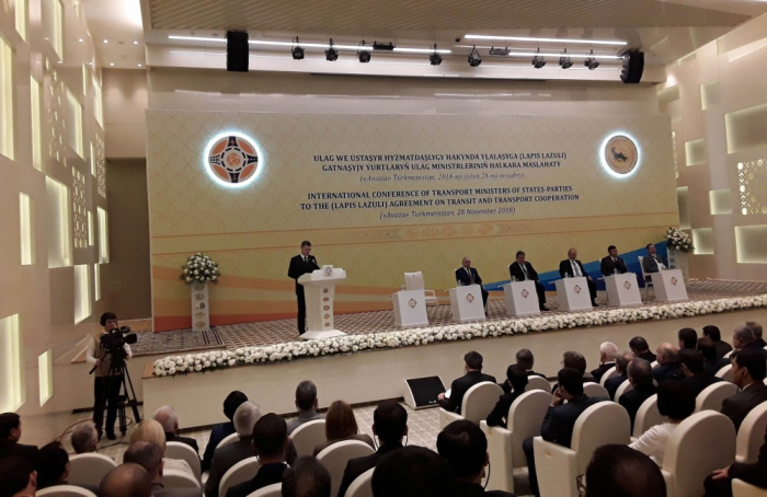 International conference of ministers of transport kicks off in Avaza