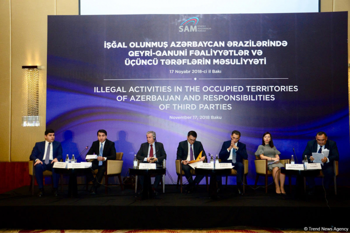 Baku hosts int'l conference on illegal activity in occupied Azerbaijani lands