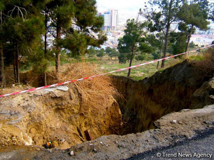 Developing program for study of landslide zones proposed in Azerbaijan