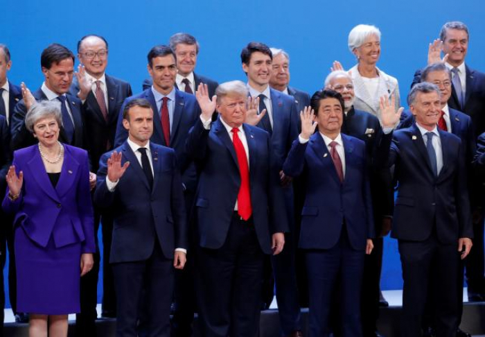 U.S.-China dispute casts shadow as world leaders gather in Argentina