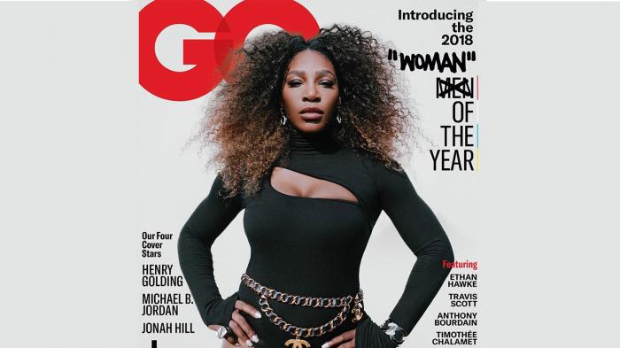 """Serena Williams élue """"femme"""" de l"""