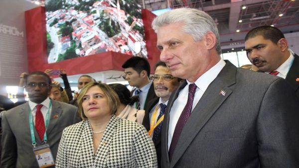 Presidente de Cuba prosigue en Beijing su visita a China