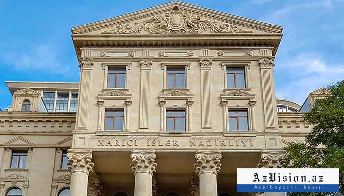 El MAE de Azerbaiyán responde a Mnatsakanián