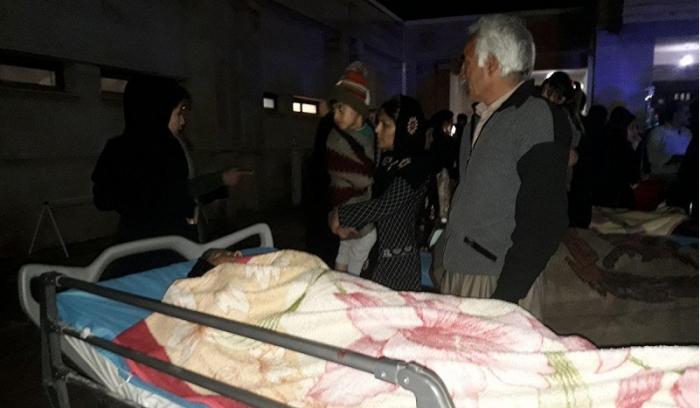 634 مصابا جراء الزلزال غادروا المستشفيات بعد تلقيهم العلاج