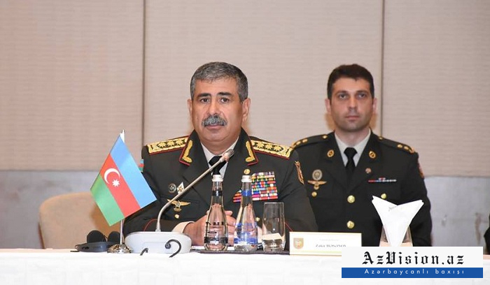 """""""El principal propósito es garantizar la estabilidad en la región""""-Zakir Hasanov"""