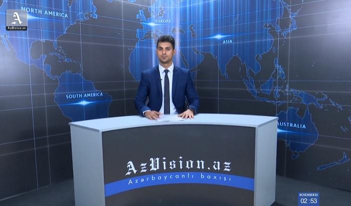 AzVision Nachrichten: Alman dilində günün əsas xəbərləri (5 Noyabr) - VİDEO