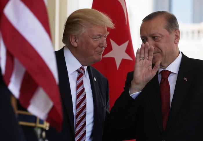 Türk ordusu Suriyaya Adana sazişi əsasında daxil olub - Ərdoğan Trampa cavab verdi