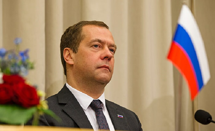 Medvedev də prezidenti təbrik etdi
