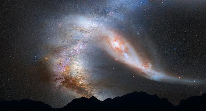 Des astrophysiciens captent un signal de haute énergie d