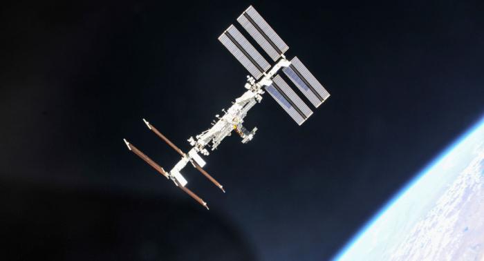 Le lancement d'une fusée Soyouz filmé depuis l'ISS en time-lapse - VIDEO