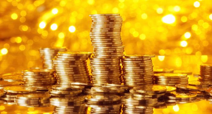 Des pièces d'or de grande valeur retrouvées dans un seau pour les dons