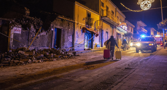 Around 30 injured as earthquake hits Sicily