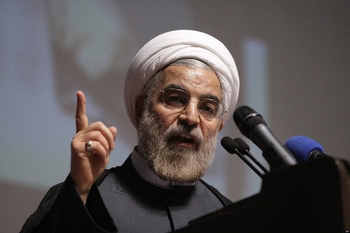 """Ruhani ABŞ-ı hədələdi: """"Fars körfəzini bağlayacağıq"""""""