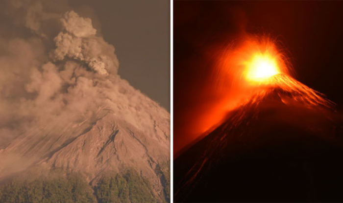 Guatemala volcano eruption: Ash plume blasted 1300m into air after 10 explosions AN HOUR