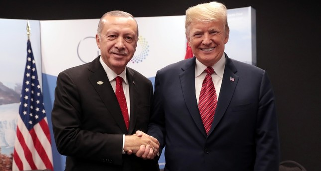 President Erdogan meets with Trump and Putin at G20 summit in Argentina