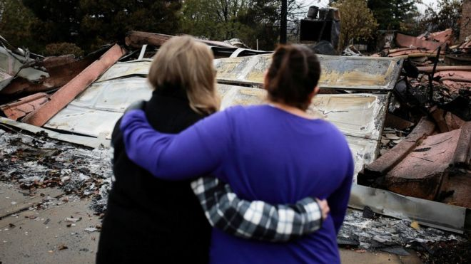 California wildfires: Number of missing falls to 25