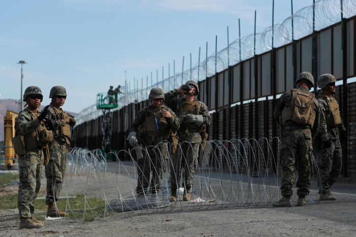 Pentagon extends border mission through January 2019