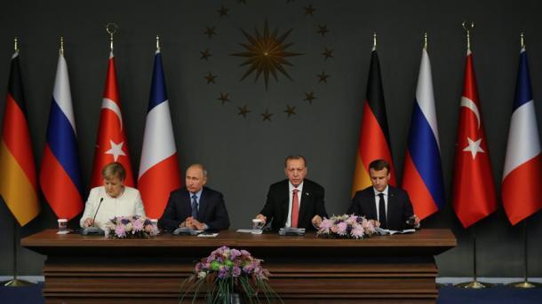 ¿Se celebrará por segunda vez la cumbre cuadrilátera sobre Siria?