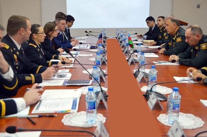 Azerbaijan, US hold military consultations