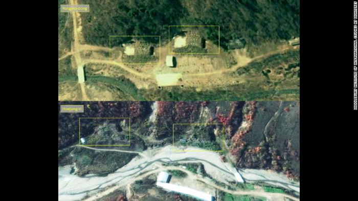 New satellite images reveal activity at unidentified North Korean missile base