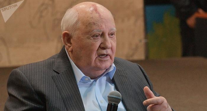 """""""Frieden gefährdet"""": Gorbatschow warnt die Welt"""