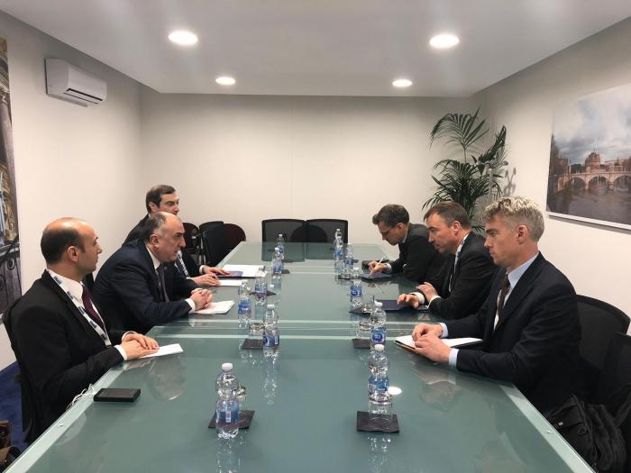 Azerbaijani FM meets with European Union Special Representative for S. Caucasus
