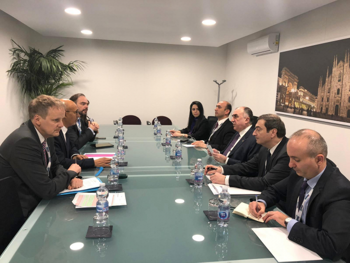 FM Mammadyarov meets with OSCE's Désir