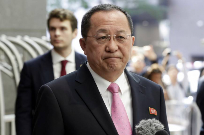 Korean FM reaffirms commitment to denuclearization on Beijing visit