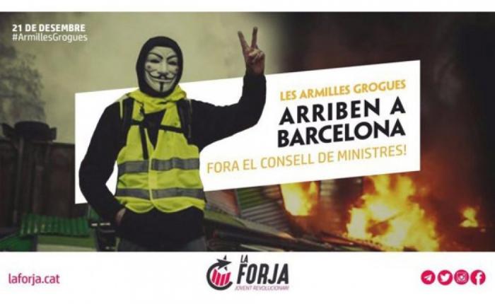 """Kataloniyada """"sarı jiletlər"""" aksiyası hazırlanır"""