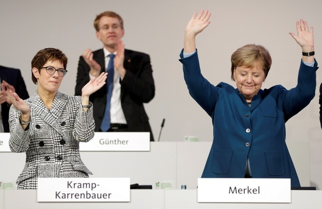 Merkel ally Kramp-Karrenbauer elected new CDU leader