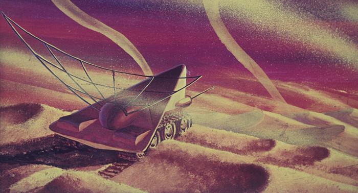 """Leben auf dem Mars? Alienjäger entdeckt """"Fossil"""" auf dem Roten Planeten"""