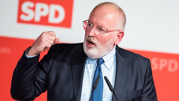 Sozialdemokraten wählen Timmermans